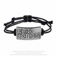 Iron Maiden: Logo Wriststrap