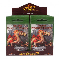 Golden Mountain Dragon Incense Cones