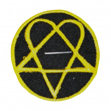 HIM Band Logo Embroidered Patch