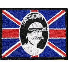 God Save The Queen Embroidered Patch