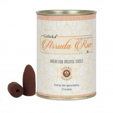 Goloka Arruda Rue Backflow Incense Cones