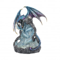 Dragons Intrigue Backflow Incense Burner (21.5cm)