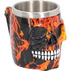 Inferno Skull Tankard (16cm)