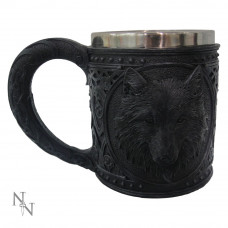 Night Wolf Tankard (15.4cm)