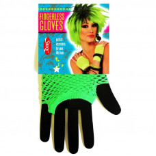 Short Fishnet Fingerless Gloves