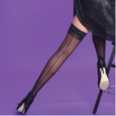 Seamer Lace Hold Ups
