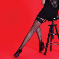 Fishnet Backseam Stockings