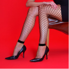 Medium Net Footless Tights