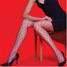 Whale Net Tights (White)