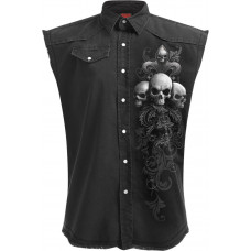 Soul Scroll - Sleeveless Workshirt