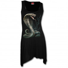 Serpent Tattoo Camisole Dress